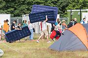 Late arrivals - The 2016 Latitude Festival, Henham Park, Suffolk.