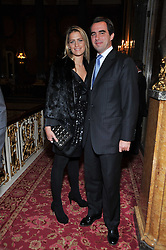 PRINCE NICKOLAS OF GREECE and TATIANNA BLACKNICK at a party to celebrate 300 years of Tatler magazine held at Lancaster House, London on 14th October 2009.