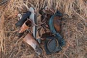 Amerindian Cowboy gear<br /> Savanna <br /> Rurununi<br /> GUYANA<br /> South America