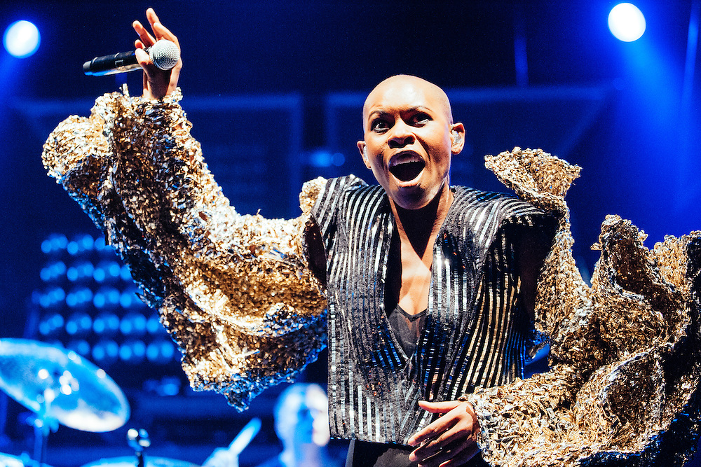 Skin/Skunk Anansie performing live at the Rockhal concert venue in Luxembourg, Europe on June 30, 2010
