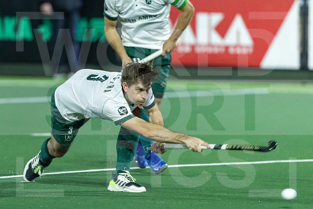 Rotterdam, Tulp Hoofdklasse Hockey Heren, Seizoen 2020-2021, 16-04-2021, Rotterdam - Den Bosch 0-3, Tristan Algera (Rotterdam)<br /><br /> COPYRIGHT WORLDSPORTPICS WILLEM VERNES