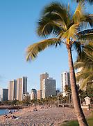Waikiki Beach at Honolulu, O'Ahu, Hawai?i