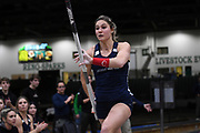 Lexi Jacobus places second in the elite women's competitition at 14-9 (4.50m) during the National Pole Vault Summit, Friday, Jan. 17, 2020, in Reno, Nev.