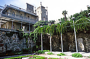 Vorontsov Palace or the Alupka Palace, Yalta, Crimea, Russia in 1997
