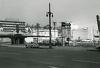 1972 Parking lot on Highland Ave., north of Hollywood Blvd.