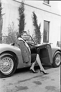 01/03/1962.03/01/1962.01 March 1962.Rosemary Smith, racing driver and dress designer