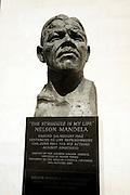 Nelson Mandela statue outside, Royal Festival Hall, London
