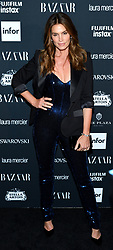 Model Cindy Crawford attends the Harper's Bazaar Icons by Carine Roitfeld celebration at The Plaza Hotel in New York, NY on September 8, 2017.  (Photo by Stephen Smith/SIPA USA)