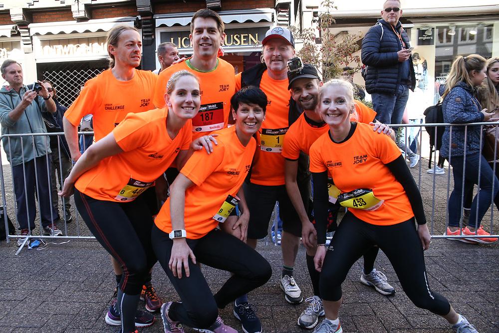 """Urban Challenge, Celle, 30.09.2018<br /> Joey Kelly und """"Team Joey""""<br /> © Torsten Helmke"""
