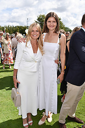 29 July 2021 - The QATAR Goodwood Festival Ladies Day at Goodwood Racecourse, West Sussex.<br /> Picture Shows - The Marchioness of Milford Haven and her daughter Louisa Wentworth-Stanley.<br /> <br /> NON EXCLUSIVE - WORLD RIGHTS