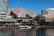General views of Darling Harbour, Sydney, Australia.