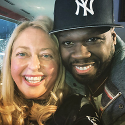 """50 Cent releases a photo on Instagram with the following caption: """"Happy Birthday \ud83c\udf88\ud83c\udf89\ud83c\udf81 @trishkennedyceo  go patriots !!! Positive Vibes"""". Photo Credit: Instagram *** No USA Distribution *** For Editorial Use Only *** Not to be Published in Books or Photo Books ***  Please note: Fees charged by the agency are for the agency's services only, and do not, nor are they intended to, convey to the user any ownership of Copyright or License in the material. The agency does not claim any ownership including but not limited to Copyright or License in the attached material. By publishing this material you expressly agree to indemnify and to hold the agency and its directors, shareholders and employees harmless from any loss, claims, damages, demands, expenses (including legal fees), or any causes of action or allegation against the agency arising out of or connected in any way with publication of the material."""