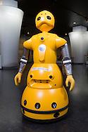A robot at the robotics company Cyberdyne, Japan.