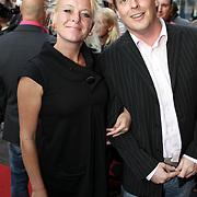 NLD/Amsterdam/20080901 - Premiere film Bikkel over het leven van Bart de Graaff, Eva Ruis en partner