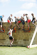 Tough Mudder - May 2012 - Northamptonshire - Berlin Wall Climb
