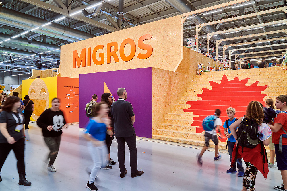 Sponsoren - Migros. © Manu Friederich