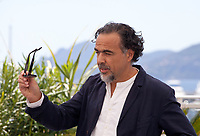 President of the Jury, Director Alejandro Gonzalez Iñárritu  at the Jury photo call at the 72nd Cannes Film Festival, Tuesday 14th May 2019, Cannes, France. Photo credit: Doreen Kennedy