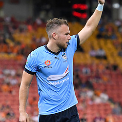 BRISBANE, AUSTRALIA - FEBRUARY 3: Jordy Buijs of Sydney in action during the round 18 Hyundai A-League match between the Brisbane Roar and Sydney FC at Suncorp Stadium on February 3, 2017 in Brisbane, Australia. (Photo by Patrick Kearney/Brisbane Roar)