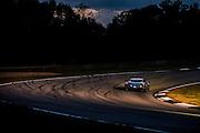 Tony Vilander, Scott Sharp and Johannes van Overbeek, Extreme Speed Motorsports (GT) Ferrari F458 Italia, Petit Le Mans. Oct 18-20, 2012. © Jamey Price