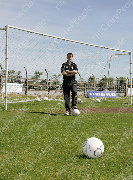 Lifford Under 21 Coach, Anton Mannering.<br />Picture: Don Moloney / Press 22