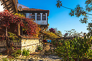 Sunny autumn day in Old Town Of Nessebar