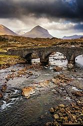 Old road bridge over the River Sligachan, Isle of Skye, Scotland<br /> <br /> (c) Andrew Wilson | Edinburgh Elite media