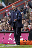 Photo: Olly Greenwood.<br />Charlton Athletic v Everton. The Barclays Premiership. 25/11/2006. Everton manager David Moyes