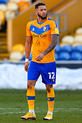 Kellan Gordon of Mansfield Town - Mandatory by-line: Ryan Crockett/JMP - 27/02/2021 - FOOTBALL - One Call Stadium - Mansfield, England - Mansfield Town v Morecambe - Sky Bet League Two