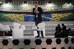 """O presidente do Grupo RBS, Eduardo Sirotsky Melzer, durante o """"Seminário Futebol do Futuro"""", realizado em Porto Alegre com especialistas e personalidades de renome nacional e internacional da área esportiva. FOTO: Jefferson Bernardes/ Agência Preview"""