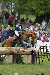 "Cazaubon Sandra (FRA) - Diamant Du Pontet<br /> ""The Mitsubishi Motors Badminton Horse Trials""<br /> CCI**** Badminton 2009<br /> © Dirk Caremans"