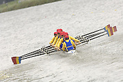 2006, FISA Juniors, Bosbaan, Amsterdam, THE NETHERLANDS, Wed, 02.08.2006, ROM JM8+.  Peter Spurrier/Intersport Images, email images@intersport-images.com...[Mandatory Credit Peter Spurrier/ Intersport Images] Rowing Course: Bosbaan Rowing Course, Amsterdam, NETHERLANDS