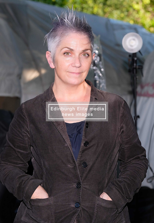 """Edinburgh International Book Festival 2017<br /> Denise Mina is a Scottish crime writer and playwright. She has written the Garnethill trilogy and another three novels featuring the character Patricia """"Paddy"""" Meehan, a Glasgow journalist<br /> (c) Alex Todd   Edinburgh Elite media"""