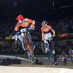 27-07-2014: Wielrennen: WK BMX : Rotterdam Niek Kamman onderweg naar de wereldtitel bij de junioren