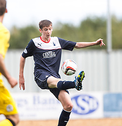 Falkirk's Conor McGrandles.<br /> Falkirk 2 v 1 Queen of the South, Scottish Championship 5/10/2013, played at The Falkirk Stadium.<br /> ©Michael Schofield.