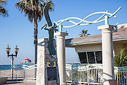 Huntington Beach Lifeguard Headquarters with the Pier in the Background