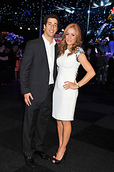 NATALIE PINKHAM and F1 driver DANIEL RICCIARDO at the F1 Party in aid of Great Ormond Street Hospital Children's Charity held at Battersea Evolution, Battersea Park, London on 4th July 2012.