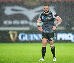 Sam Parry of Ospreys<br /> <br /> Photographer Simon King/Replay Images<br /> <br /> Guinness PRO14 Round 6 - Ospreys v Connacht - Saturday 2nd November 2019 - Liberty Stadium - Swansea<br /> <br /> World Copyright © Replay Images . All rights reserved. info@replayimages.co.uk - http://replayimages.co.uk
