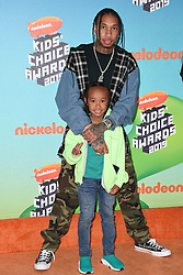 Tyga attends Nickelodeon's 2019 Kids' Choice Awards at Galen Center on March 23, 2019 in Los Angeles, CA, USA. Photo by Lionel Hahn/ABACAPRESS.COM