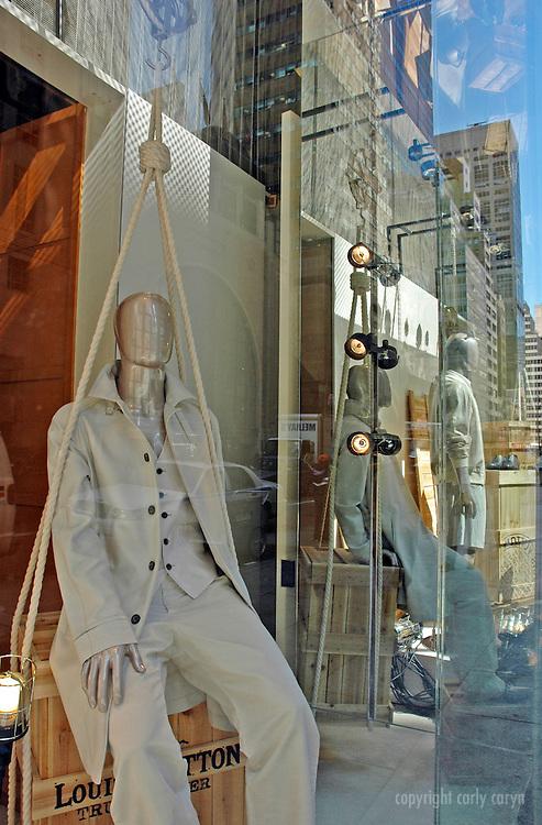 Louis Vuitton spring, menswear window