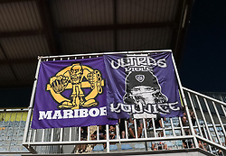 Viole, supporters of NK Maribor, during football match between NK Radomlje and NK Maribor in 4th Round of Prva Liga Telemach 2021/22, on August 7, 2021 in Sportni park Domzale, Ljubljana, Slovenia. Photo by Nik Moder / Sportida