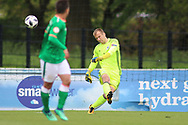 Luka Kacavenda of Bosnia and Herzegovina (1) takes a goal kick during the UEFA European Under 17 Championship 2018 match between Bosnia and Republic of Ireland at Stadion Bilino Polje, Zenica, Bosnia and Herzegovina on 11 May 2018. Picture by Mick Haynes.