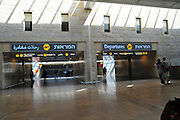 Israel, Ben-Gurion international Airport, Terminal 3, Check in hall