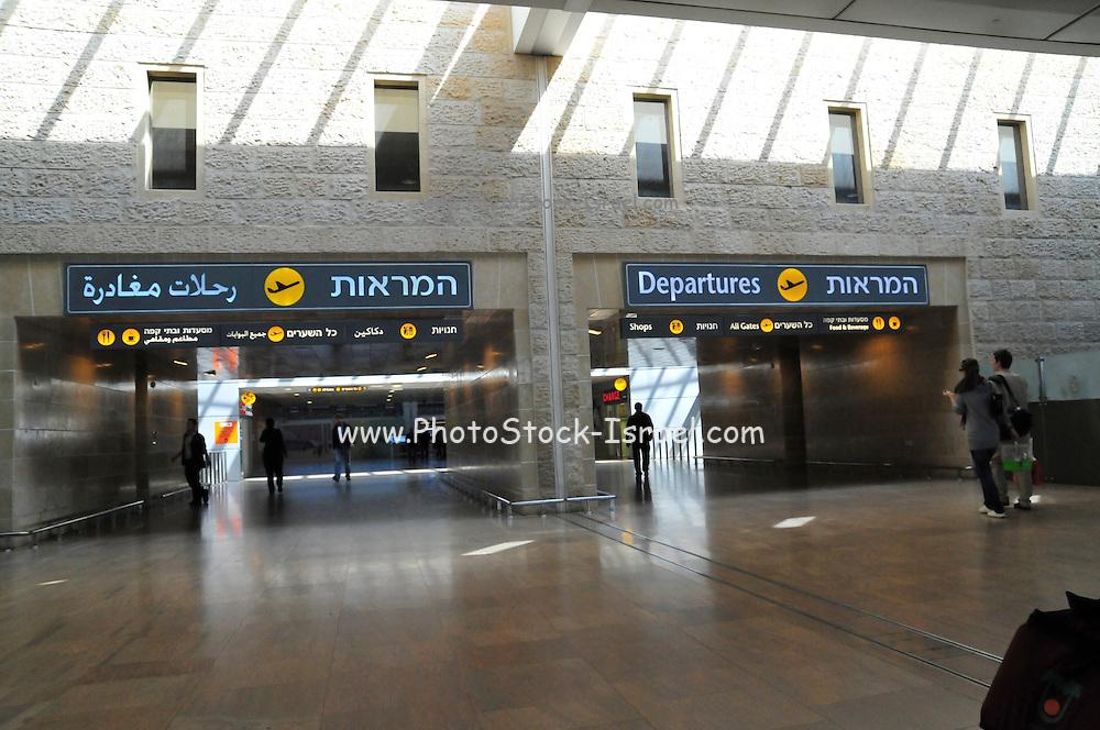 Israel, Ben-Gurion international Airport, Terminal 3, Check in hall
