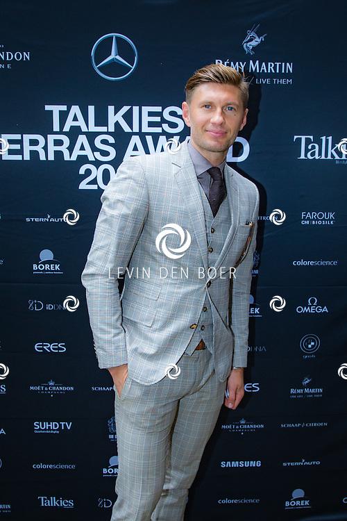 AMSTERDAM - In The Dylan zijn de Talkies Terras Awards uitgereikt voor beste terras 2016. Met hier op de foto Evgeniy Levchenko. FOTO LEVIN & PAULA PHOTOGRAPHY VOF