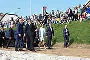 De Argentijnse president Mauricio Macri, zijn vrouw Juliana Awada, Koning Willem-Alexander en koningin Maxima brengen een bezoek aan de haven van Rotterdam<br /> <br /> The Argentine president Mauricio Macri, his wife Juliana Awada, King Willem-Alexander and Queen Maxima visit the Port of Rotterdam<br /> <br /> Op de foto / On the photo:  De Argentijnse president Mauricio Macri, zijn vrouw Juliana Awada, Koning Willem-Alexander en koningin Maxima <br /> <br /> The Argentine president Mauricio Macri, his wife Juliana Awada, King Willem-Alexander and Queen Maxima