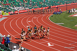 USA Olympic Track and Field Team Trials<br /> June 18-28, 2021 <br /> Eugene, Oregon, USA<br /> day 9 of competition: