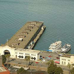 Piers at San Francisco, California Area
