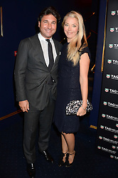 GIORGIO VERONI and TAMARA BECKWITH at the launch of TAG Heuer's new Aquaracer in the presence of long term friend of the brand Bo Derek held at Tramp, Jermyn Street, London on 8th October 2013.