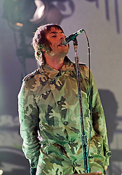 © Licensed to London News Pictures. 26/08/2011. Reading, UK. Liam Gallagher's band Beady Eye play the NME Radio 1 stage on Day one of Reading Festival 2011 in Reading, Berkshire today (26/08/2011). Photo credit: Ben Cawthra/LNP Image can only be used up to 60 days after (26/08/2011) due to contract agreement.