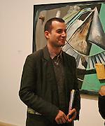 Matthew Slotover, Martin Kippenberger, Tate Modern. 7 Febriuary 2006. -DO NOT ARCHIVE-© Copyright Photograph by Dafydd Jones 66 Stockwell Park Rd. London SW9 0DA Tel 020 7733 0108 www.dafjones.com